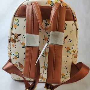 Loungefly Bags - Loungefly Pokemon Evee Mini Backpack Vegan New